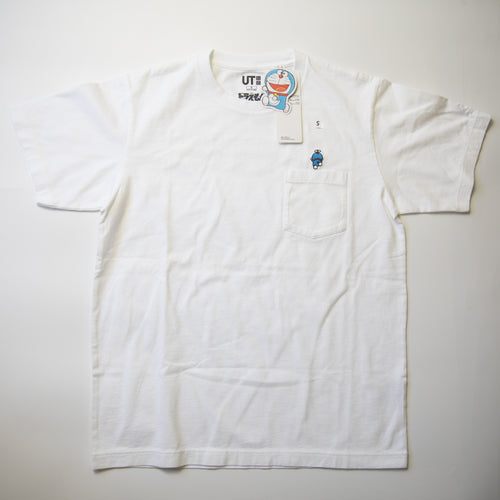 Doraemon x Uniqlo Pocket Tee (Small / MINT)