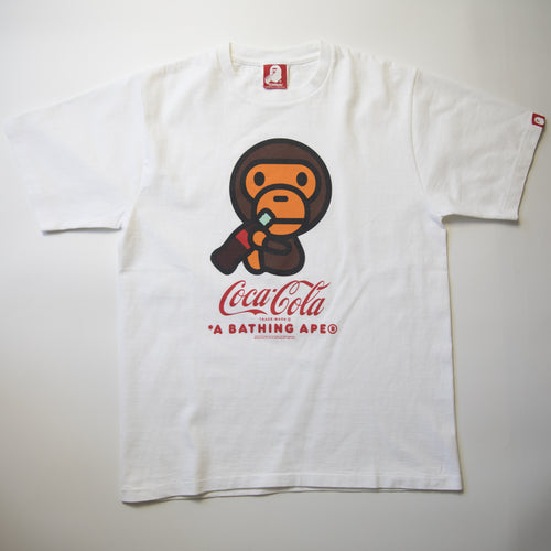 Bape x Coca Cola Milo Tee (Medium / USED)