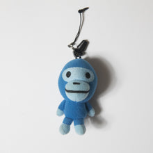 Bape Baby Milo Blue Mini Plush Keychain (USED)