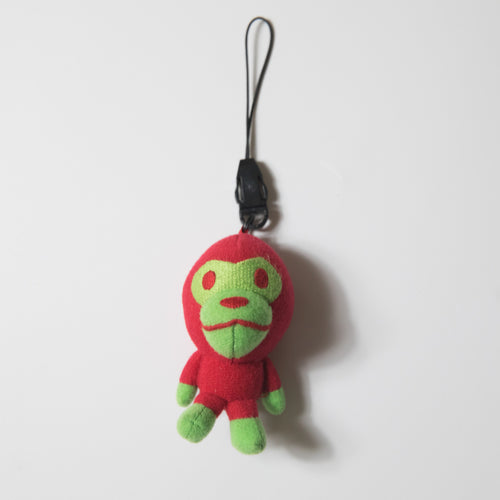 Bape Baby Milo Alien Mini Plush Keychain (USED)