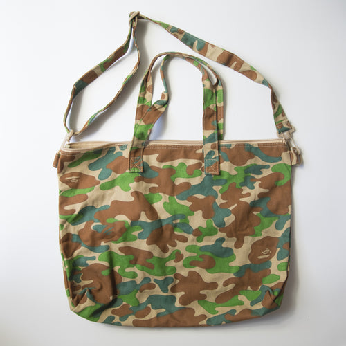Bape Puzzle Camo Tote Bag (USED)