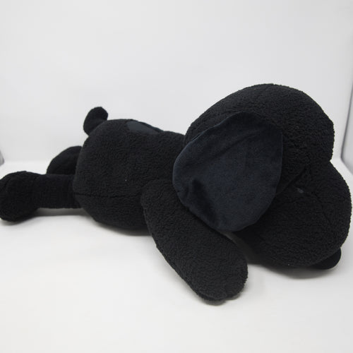 Kaws x Uniqlo Peanuts Snoopy Plush Doll Black Medium (NEW)