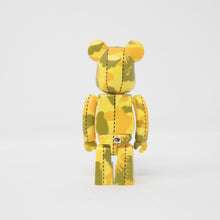 Medicom Toy BEARBRICK x Bape Yellow Flame Camo 100% Figure (MINT)