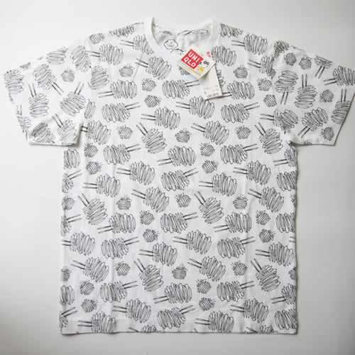Kaws x Peanuts x Uniqlo Dust Cloud All Over Tee (Small / MINT)