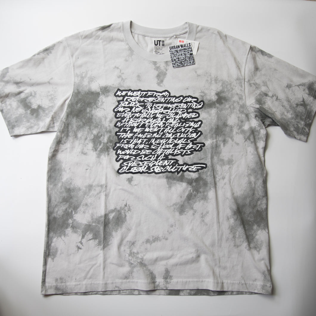 Futura Laboratories x Uniqlo Script Tee (Multiple Sizes / MINT)