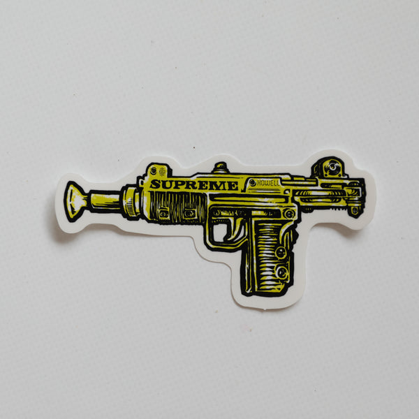 Supreme Toy Uzi Sticker Green (MINT)