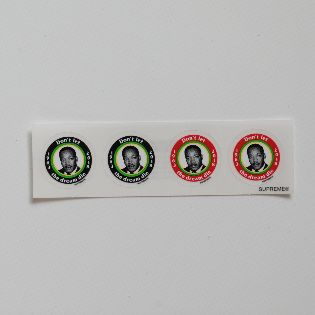 Supreme MLK Dream Mini Stickers (MINT)