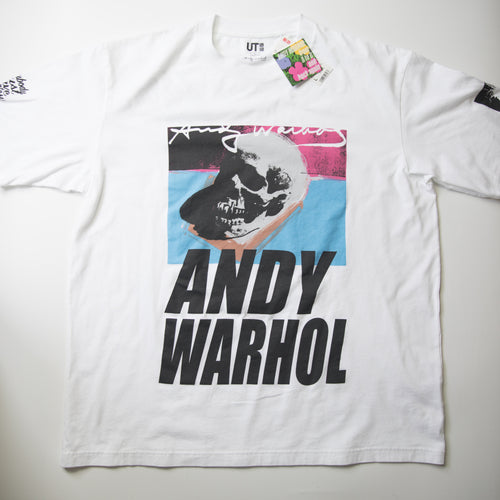 Andy Warhol x Uniqlo Skull Tee (Multiple Sizes / MINT)
