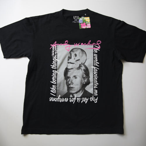 Andy Warhol x Uniqlo Photo Tee (Multiple Sizes / MINT)