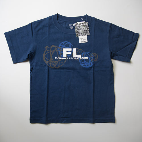 Futura Laboratories x Uniqlo Kids Logo Tee (Multiple Sizes / MINT)