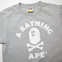 Bape Pirate College Tee Grey (Small / USED)