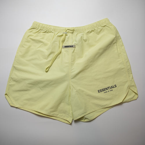 Fear Of God Essentials Active Nylon Shorts (Large / USED)