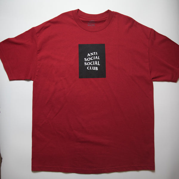 Anti Social Social Club Box Tee (XL / MINT)
