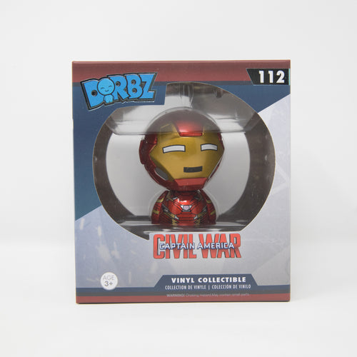 unko Dorbz Marvel Captain America Civil War #112 - Iron Man - Vinyl Figure (MINT)