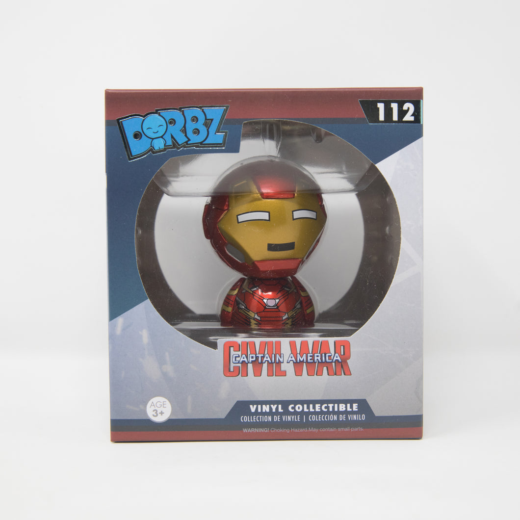 Funko Dorbz Marvel Captain America Civil War #112 - Iron Man - Vinyl Figure (MINT)
