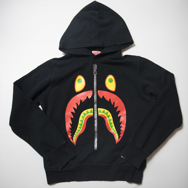 Bape Red Shark Hoodie (XS / USED)