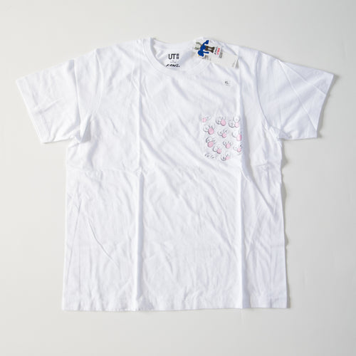 Kaws x Uniqlo BFF Pocket Tee White (Small / MINT)