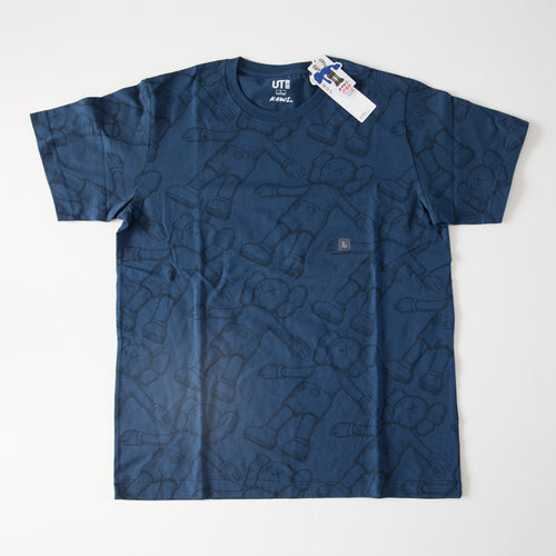 Kaws x Uniqlo Holiday Companion Tee Navy (Multiple Sizes / NEW)