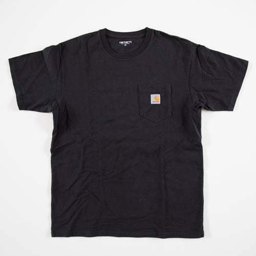 Carhartt Pocket Tee Black (Medium / USED)