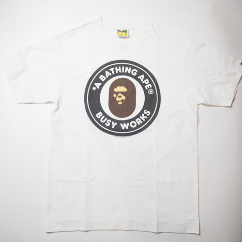 Bape Busy Works Tee (Medium / USED)