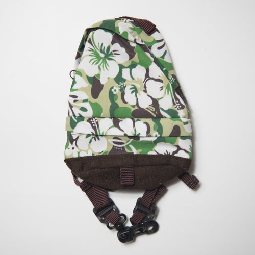 Bape Resort Camo Mini Backpack Pouch Green (USED)