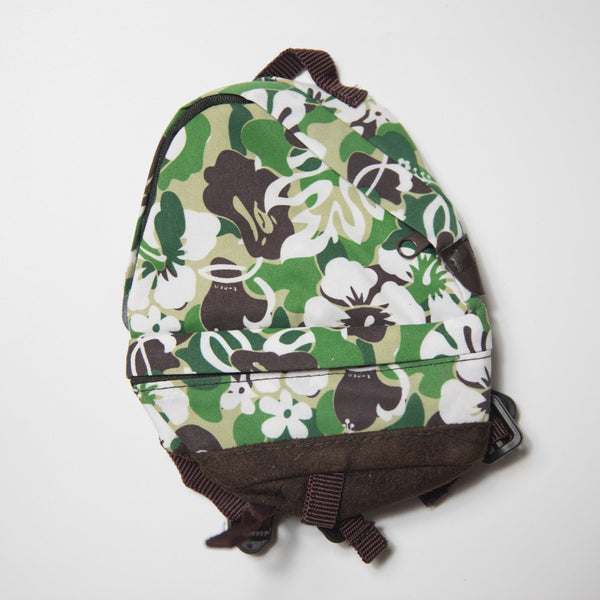 Bape Resort Camo Mini Backpack Pouch Green (MINT)