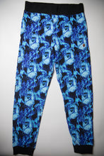 Bape Flame Ape Head Joggers Blue (XL / MINT)