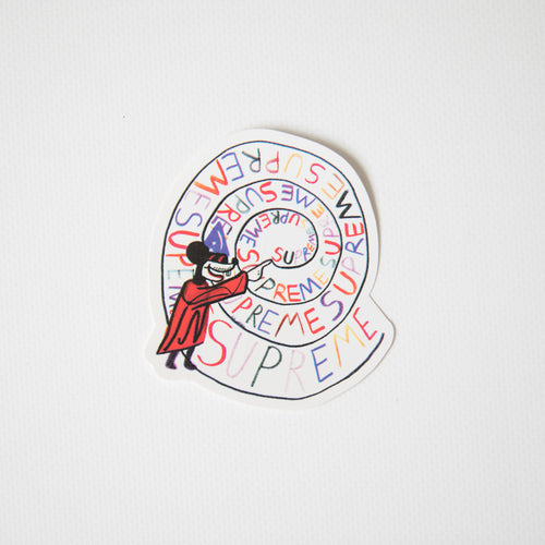 Supreme Joe Roberts Swirl Sticker (MINT)