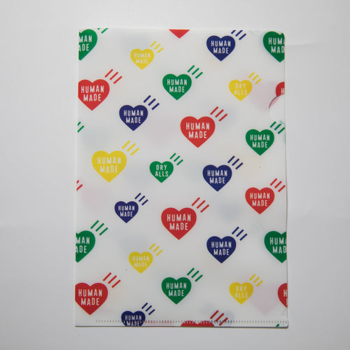 Human Made Hearts Folder (USED)