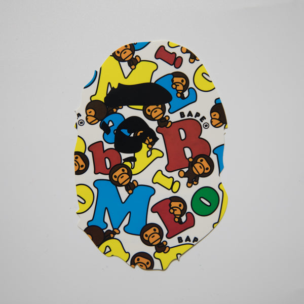 Bape Milo Ape Head Sticker (MINT)
