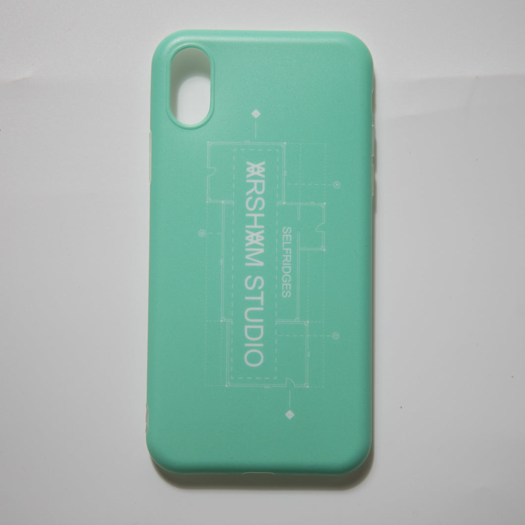 Daniel Arsham Lock Up iPhone X Case (MINT)