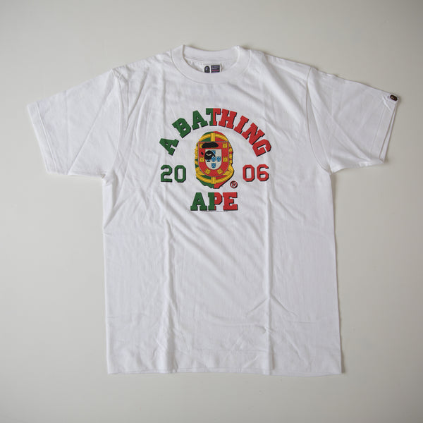 Bape Portugal College Tee (Medium / USED)