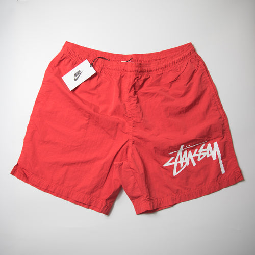 Nike x Stussy Water Short Habanero Red (Large / MINT)