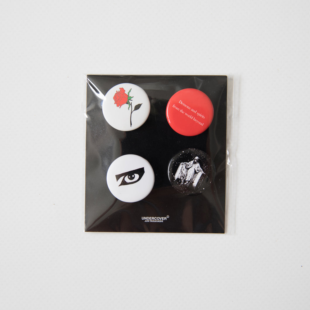Undercover Demons And Spirits Pin Set (NEW)