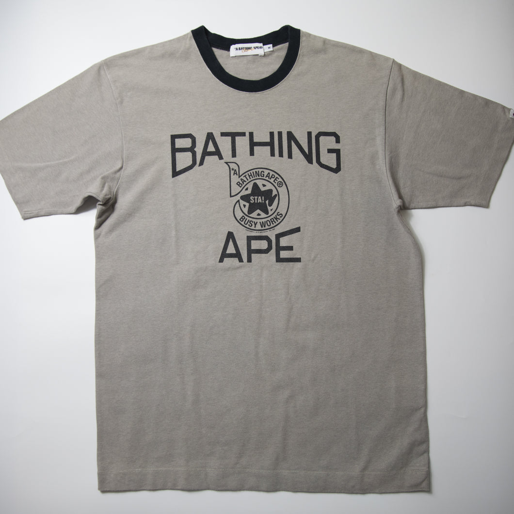 Bape Sta Busy Works Tee (Medium / USED)