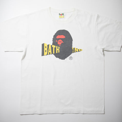 Bape Bathing Ape Head Tee (Large / USED)