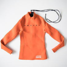 Ambush Logo Print Scuba Top Orange (Small / NEW)