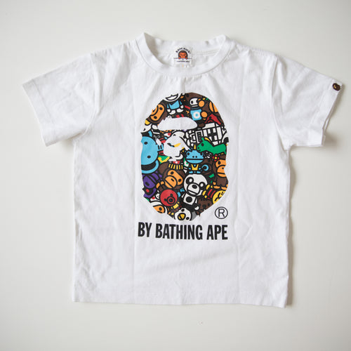 Bape Kids Ape Head Safari Tee (6 Years / USED)