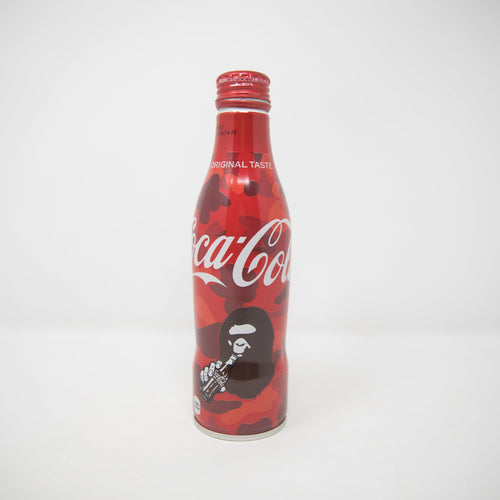Bape x Coca Cola Ape Head Camo Bottle Can (USED)