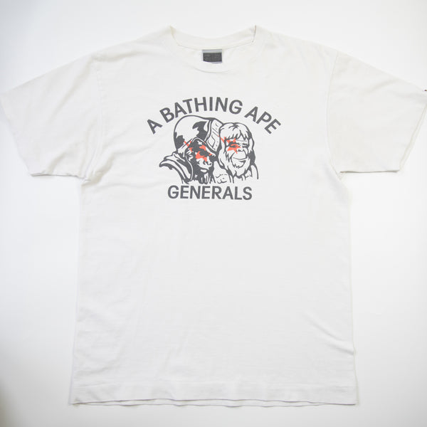 Bape Generals Tee (Medium / USED)