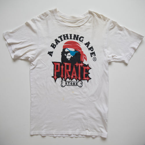 Bape Pirate Tee (Small / USED)