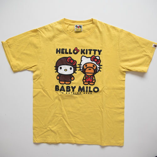 Bape x Hello Kitty Tee (Large / USED)