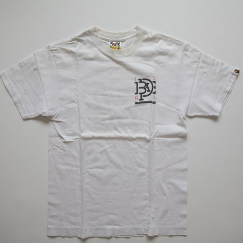 Bape Intertwined Logo Tee (Medium / USED)