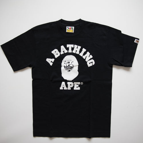 Bape Cassette College Tee (Small / USED)