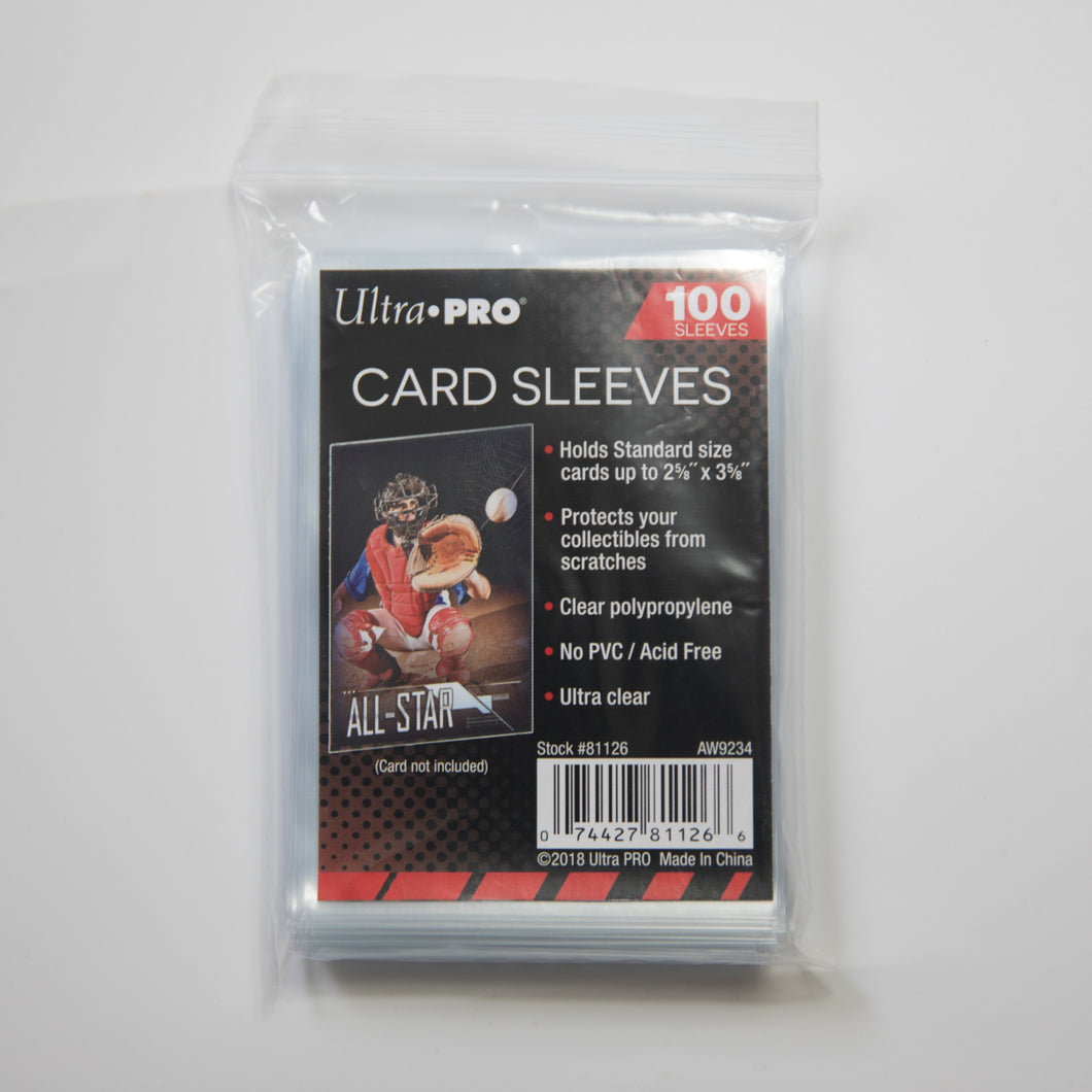 Ultra Pro 100 Card Sleeves Pack (MINT)