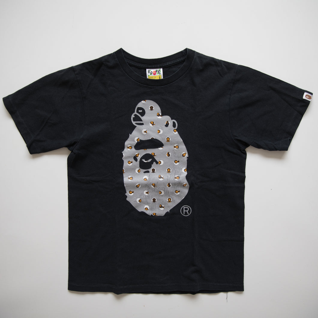 Bape Baby Milo On Ape Head Tee (Small / USED)