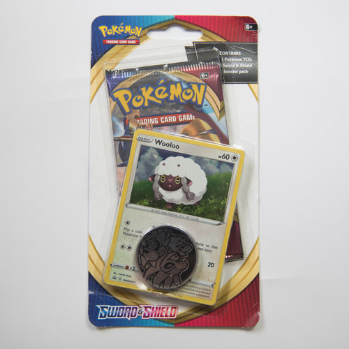 Pokemon Booster Pack Blister - Sword & Shield [Wooloo] (MINT)