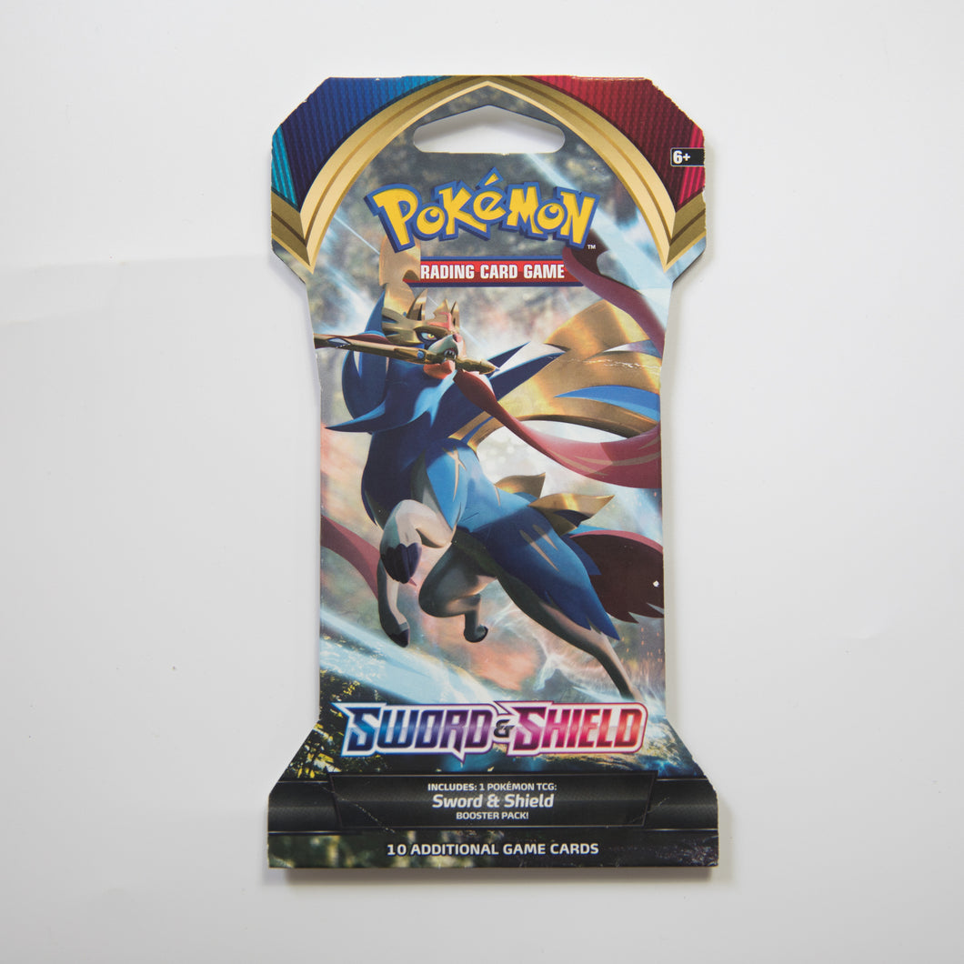 Pokemon Booster Pack - Sword & Shield [Cardboard Packaging] (MINT)