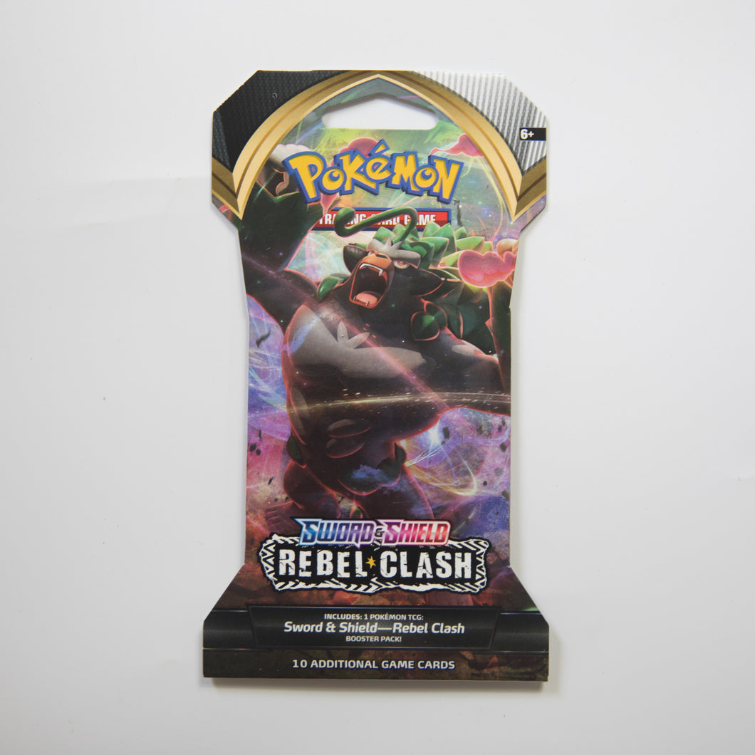 Pokemon Booster Pack - Sword & Shield Rebel Clash [Cardboard Packaging] (MINT)