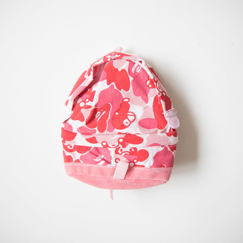 Bape Milo Camo Mini Backpack Pouch Pink (MINT)